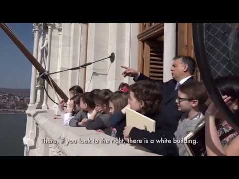 Orban Teaches Students Hungarian History
