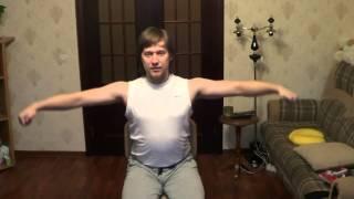 Здоровая Спина И Шея  Урок 5 Упражнение для плеч.
