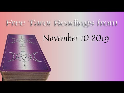 Giving Free Tarot Readings 11/10/2019