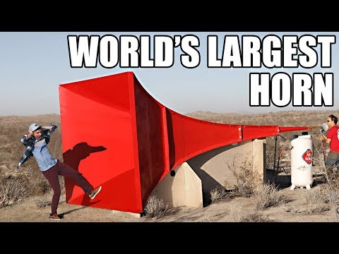 World's Largest Horn Shatters Glass en streaming