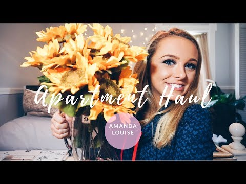 APARTMENT HAUL  ll  Back To School with Amanda Louise