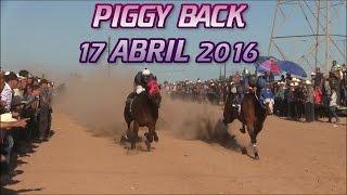 Carreras de Caballos Taste El Piggy Back de Empalme 17 de Abril 2016