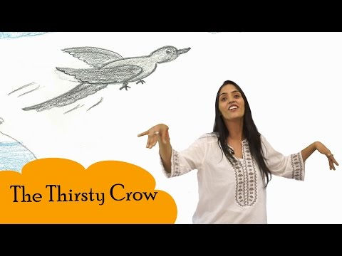 Stories For Kids | The Thirsty Crow Storytelling for Childre