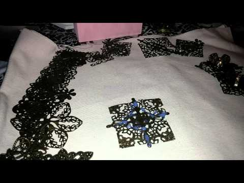 Tutorial P1 how to glue metal embellishments