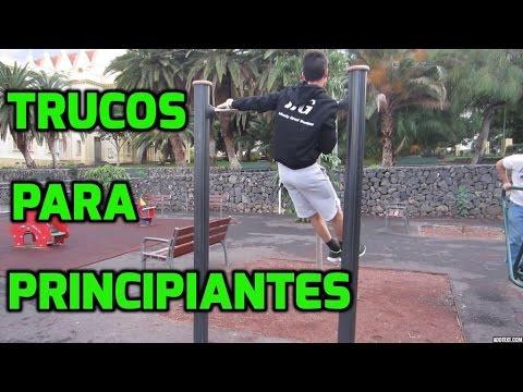 TRUCOS PARA PRINCIPIANTES - Street Workout