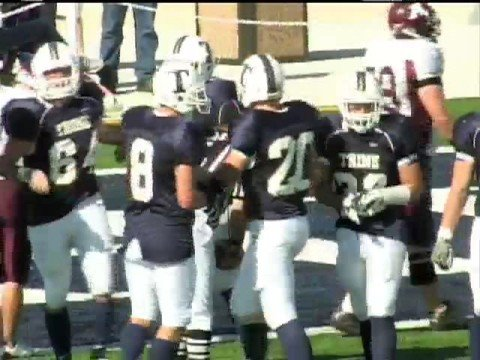 2008 Trine University vs Alma College Football  Highlight Reel