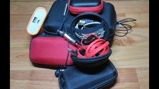 ПОСЫЛКА ИЗ КИТАЯ. Боксы для хранения наушников и мелких гаджетов с Алиэкспресс. Распаковка и обзор.