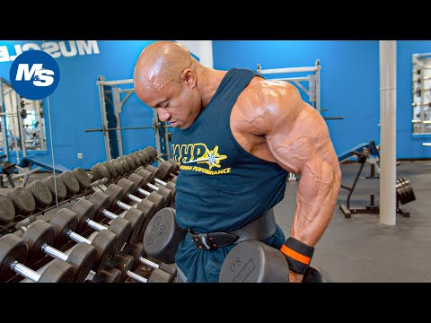 Victor Martinez's Shoulder Workout At Muscle & Strength