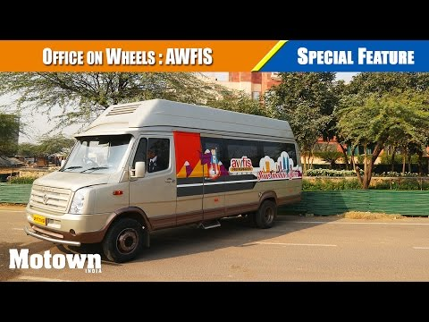 Office on wheels: Awfis