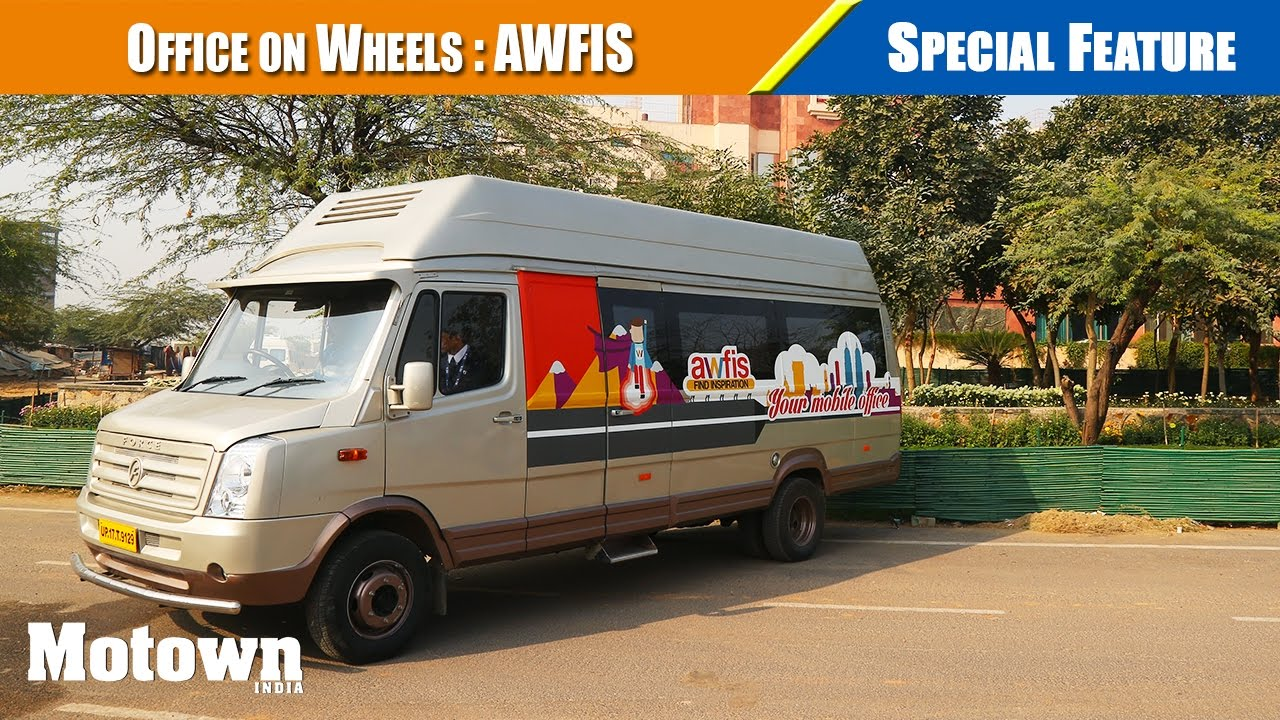 Office On Wheels Awfis Motown India