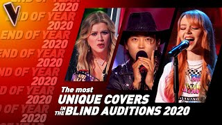 The MOST UNIQUE COVERS on The Voice 2020   Top 10
