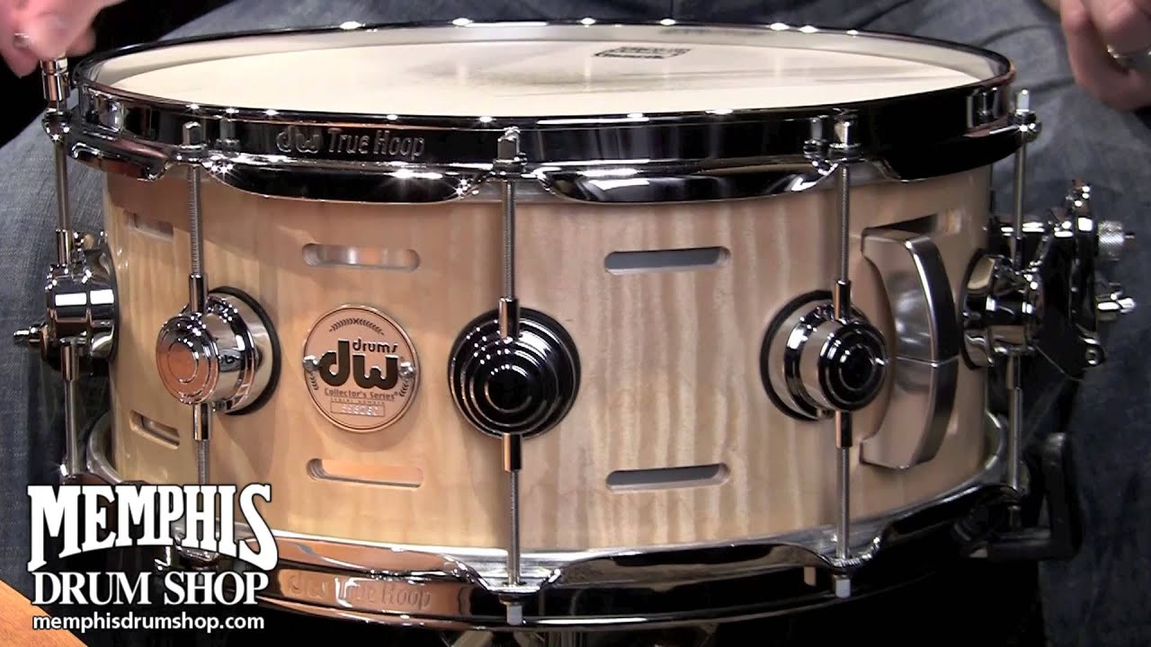 dw 14x6 collector 39 s series acoustic eq snare drum natural oil youtube. Black Bedroom Furniture Sets. Home Design Ideas