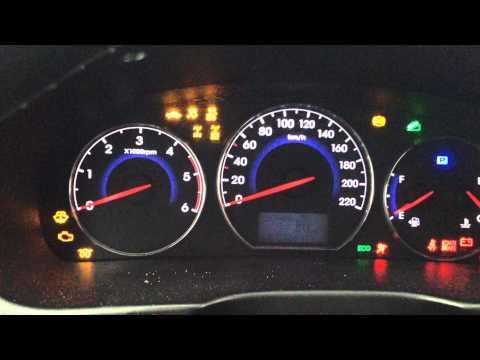 Как не заводится Hyundai Santa Fe