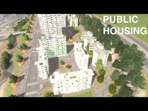 Public Housing Project |Cities Skylines - Real Town Planner plays | Ep 14
