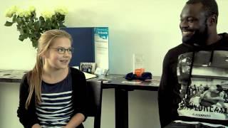 """Gerald Asamoah in Münster für """"Alle Kids sind VIPs"""""""