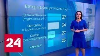 'Погода 24': белая пурга, 'Черная пурга' - Россия 24