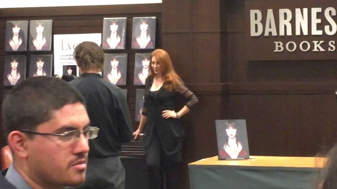 Cassandra Peterson Arrives At Barnes Noble Book Signing Elvira