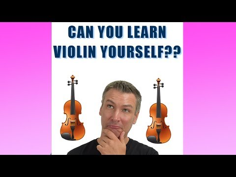 Can You Learn Violin Yourself? - YouTube