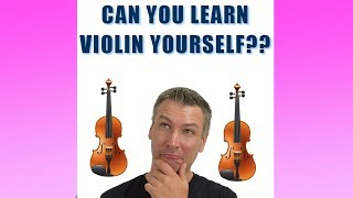 Can You Learn Violin Yourself?