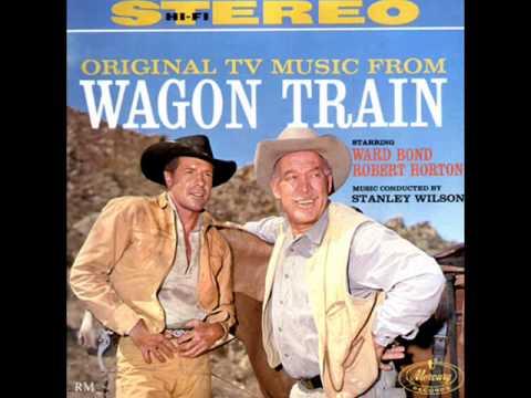 (ROLL ALONG) WAGON TRAIN   Robert Horton