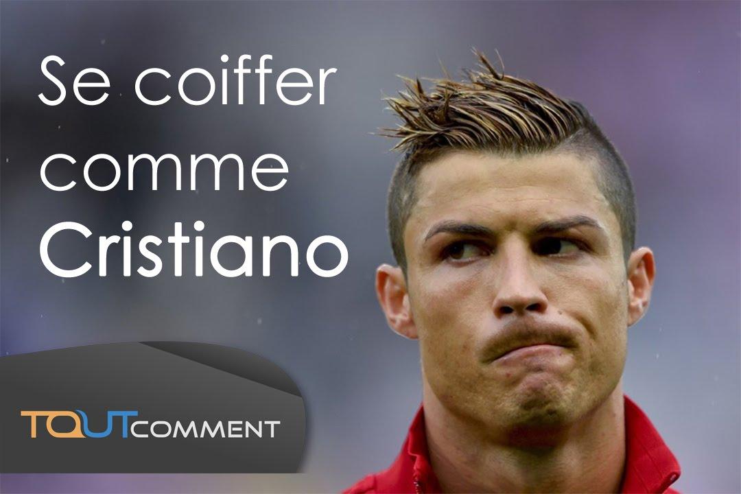 Se coiffer comme Cristiano Ronaldo ⚽