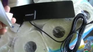 Stanley ATS-1000 HDTV Antenna Test