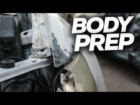 Project Daily [Ep.3] Repairing Damaged Body Panels