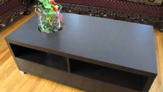 Coffee Table With Fireplace & Plant Box 1/2