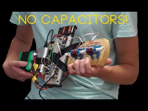CRAZY coilgun without massive capacitors part 1