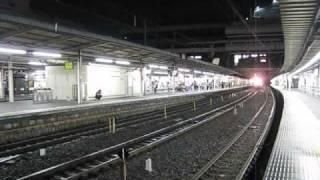 陸上自衛隊機材輸送列車 大宮駅通過 thumbnail