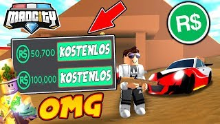 🎁 20.000 ROBUX UMSONST - MAD CITY ROBLOX