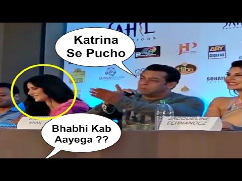 Salman Khan Shocking Reaction On Marriage With Katrina Kaif