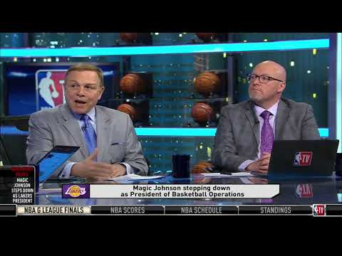 GameTime: David Griffin & Mike Fratello On Magic Johnson Stepping Down As Lakers' President
