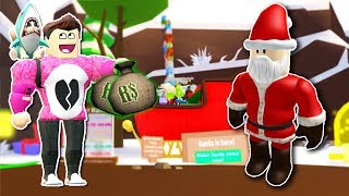 I COST ALL MY ROBUX TO KNOW NOEL PAPA Roblox Cerso in spagnolo