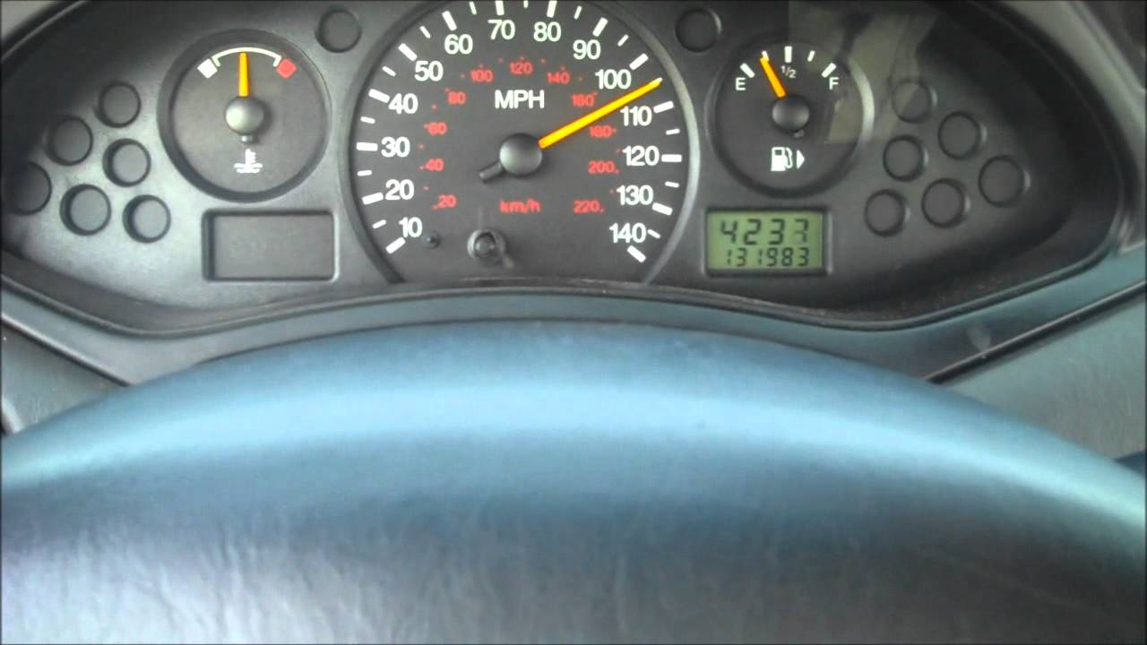 Ford Focus Top Speed Attempt
