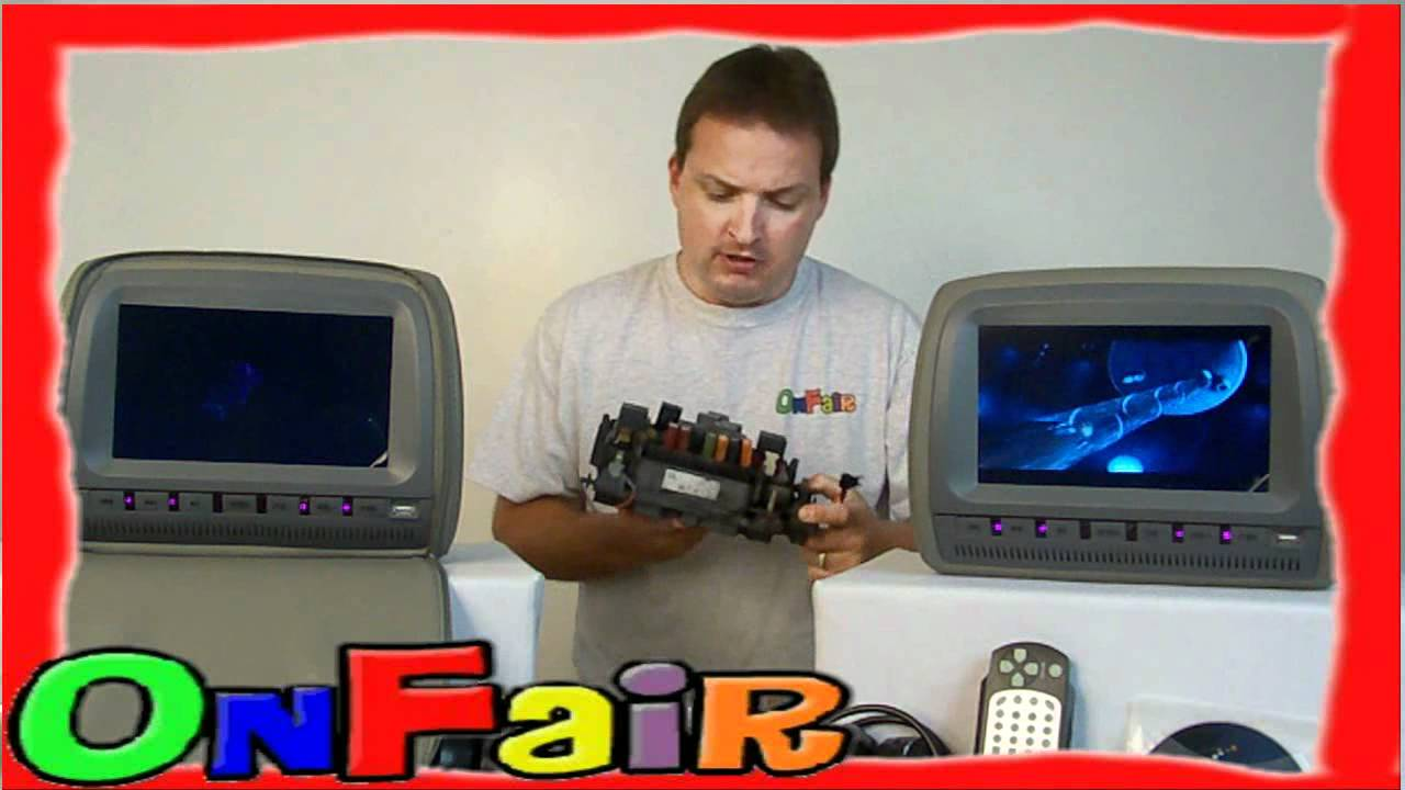 maxresdefault onfair how to install car headrest dvd monitor to fuse box youtube  at mifinder.co