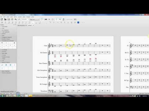 Musescore: Layout, Stretching and Shrinking Measures