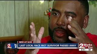 Last local survivor of 1921 Tulsa Race Riot passes away at 99