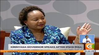 JKL | Governor Waiguru speaks After IPSOS Poll [Part 1] #JKLive