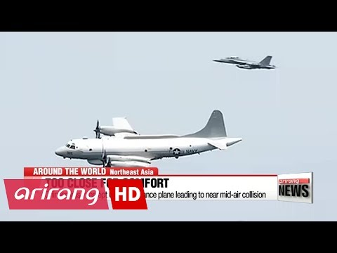Chinese jets intercept U.S. surveillance plane