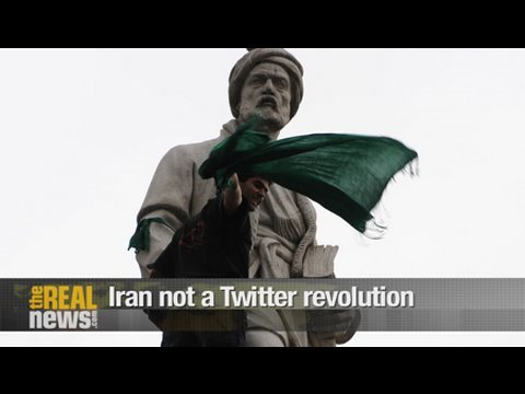 Iran not a Twitter Revolution