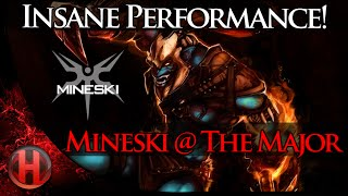 Insane Performance by Mineski @ The Major Dota 2
