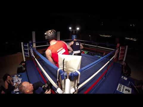 Ultra White Collar Boxing   Torquay   Diddle VS Dan Rogers
