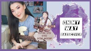 Gambar cover ON MY WAY - ALAN WALKER (bass cover) | MAIN BASS SAMBIL MAKEUP #PBWDM EPS 2