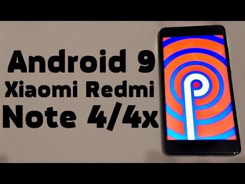 Установил Android 9 на Xiaomi Redmi Note 4/4x  🚀 РАКЕТА ПРОСТО