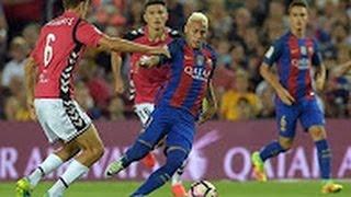 barcelona vs alaves 1 2 all goals highlights 10 09 2016