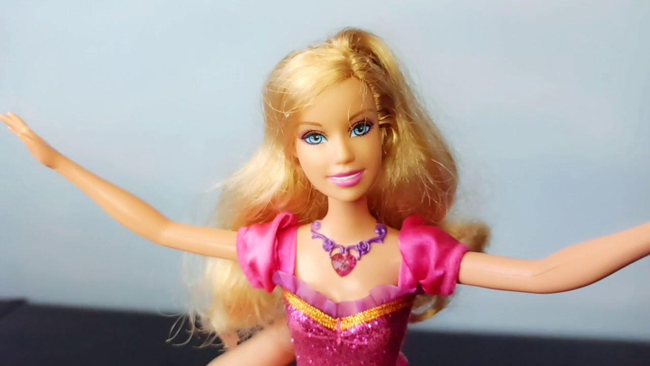 Barbie Liana Castelo De Diamantes Mattel - YouTube