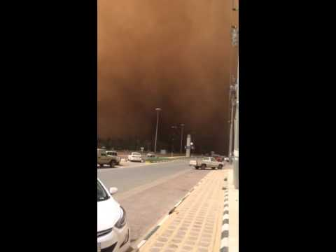 Wind storm in dubai apr 2 '15