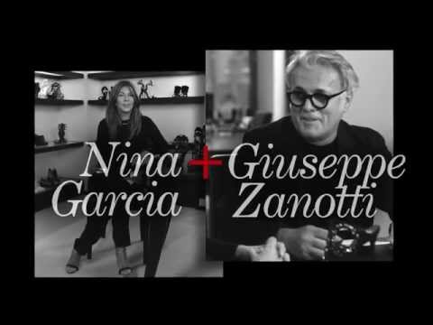 Nina García and Giuseppe Zanotti: the Interview