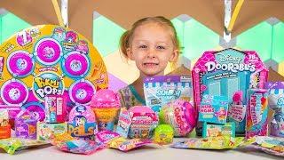 Pikmi Pops Mega Pack Disney Doorables Surprise Eggs & Blind Bags Toys for Girls Kinder Playtime